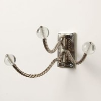 Soda Fountain Hook by Anthropologie in Clear Size: One Size Hooks