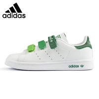 Adidas Stan Smith Clover, Men's and Women's  Walking Shoes , White, Non-slip Abrasion Resistant Breathable AQ5356