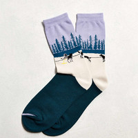 Iditarod Rest Stop Sock - Urban Outfitters