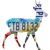 Ohio License Plate Deer