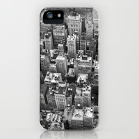 Over New York iPhone & iPod Case by JAY'S PICTURES