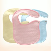 Pure Cotton Baby Bibs Boys Pinafore Newborn Babies Babadores Todder's Eat Pocket For bebe girls Unsex