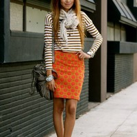 My Style Pinboard / stripes with pattern