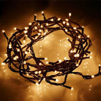 100small Bubble Light Christmas Decorative Light String Lamp Holiday Party Decor Lighting