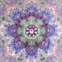 tie dye tapestry wall hanging trippy blue purple pastel grey pink