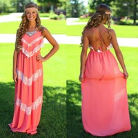 Boho Beauty Maxi Dress