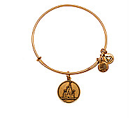 Cinderella Castle Bangle by Alex and Ani - Walt Disney World - Gold