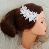 Wedding Hair Accessories,Floral Hairpiece,Bridal Comb,Hair Accessories,Great Gatsby Style,Bridal Comb,Wedding Hair Clip,Feather Hair Clip