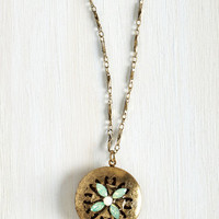 Early Morning Hush Necklace by ModCloth