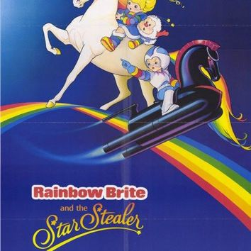 Rainbow Brite and the Star Stealer 27x40 Movie Poster (1985)