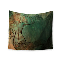"Theresa Giolzetti ""Poor Mermaid"" Wall Tapestry"