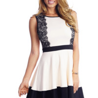 Lace in the Afternoon Babydoll Dress