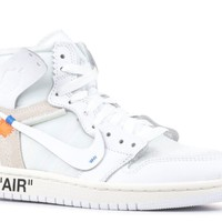 AIR JORDAN 1X OFF-WHITE NRG (GS) 'OFF-WHITE' - AQ8296-100