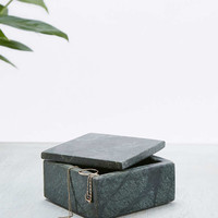 Small Low Marble Jewellery Box - Urban Outfitters