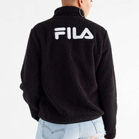 FILA Stevie Sherpa Zip Jacket | Urban Outfitters