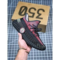 Adidas Yeezy Boost 350 V2 Static Gym Sneakers Sport shoes01