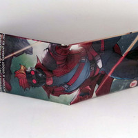 Comic Book Wallet// Star-Lord