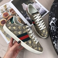 Gucci Ace Sneaker With Bees