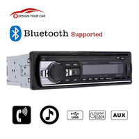 Bluetooth Car Stereo Radio Audio Player Receiver In-Dash FM Aux Input WMA WAV MP3 Player with SD/USB Port