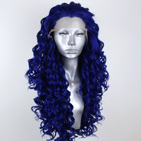 Isla- Sapphire Blue Lacefront Wig