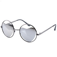 Personality metal sunglasses