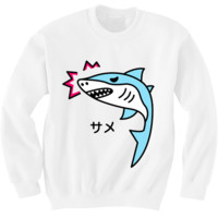 Angry Shark Sweater