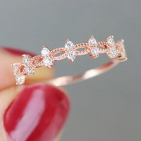 Ornate Eternity Ring
