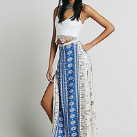Spell & the Gypsy Collective Womens Coyote Split Maxi Skirt