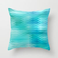I've got the blues Throw Pillow by Sylvia Cook Photography