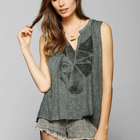 Project Social T Splice Wolf Muscle Tee - Urban Outfitters