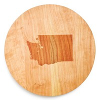 Richwood Creations State Silhouette Lazy Susan