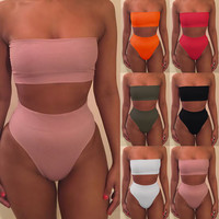 Bikini high waist swimsuit