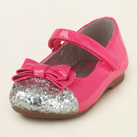 baby girl - outfits - patent bow ballet flat   Children's Clothing   Kids Clothes   The Children's Place