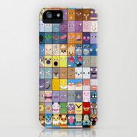 The Pokemon First Generation iPhone & iPod Case by Jorden Tually Art