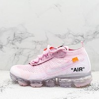 Off-white X Nike Air Vapormax Flyknit 2.0 White Pink - Best Deal Online