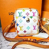 LV new printed women's shoulder bag crossbody bag