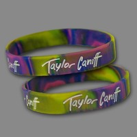 Taylor Tie-Dye Wristbands (Set Of 2) : TCNF : Taylor Caniff