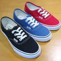 Vans Classic Authentic Canvas Sneakers
