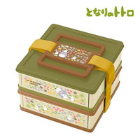 Studio Ghibli My Neighbor Totoro Two-Tiered Collapsible Lunch Box