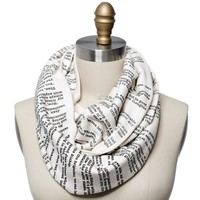 Les Miserables Book Scarf