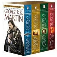 A Game of Thrones 4-Book Boxed Set (Song of Ice and Fire Series) by George R. R. Martin