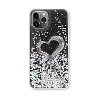 Love Heart Crystal Shiny Glitter Sparkling Jewel Case Cover for iPhone
