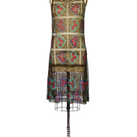 1920s French Lame & Beaded Net Flapper