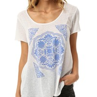 O´Neill Ornate Scoop Neck Tee | Dillards