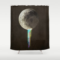 Color Bleed Shower Curtain by Eric Fan