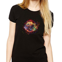 Red Nebula Shirt - Cool Shirt - Galaxy - NASA - Astronomy Shirt - Geeky T-shirt - Space - Outer Space - Astronaut - Stars - Science - Cosmos