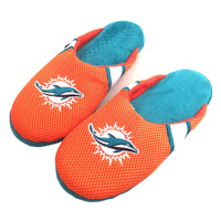 Miami Dolphins Jersey Slippers