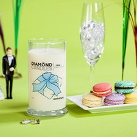 Diamond Candle Ring Candles (Anniversary Ring Candle)