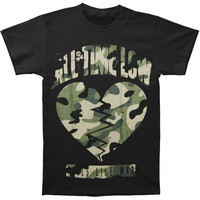 All Time Low Men's  Big And Broken T-shirt Black Rockabilia