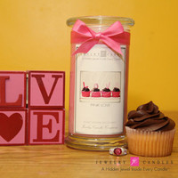 Pink Love Jewelry Candle
